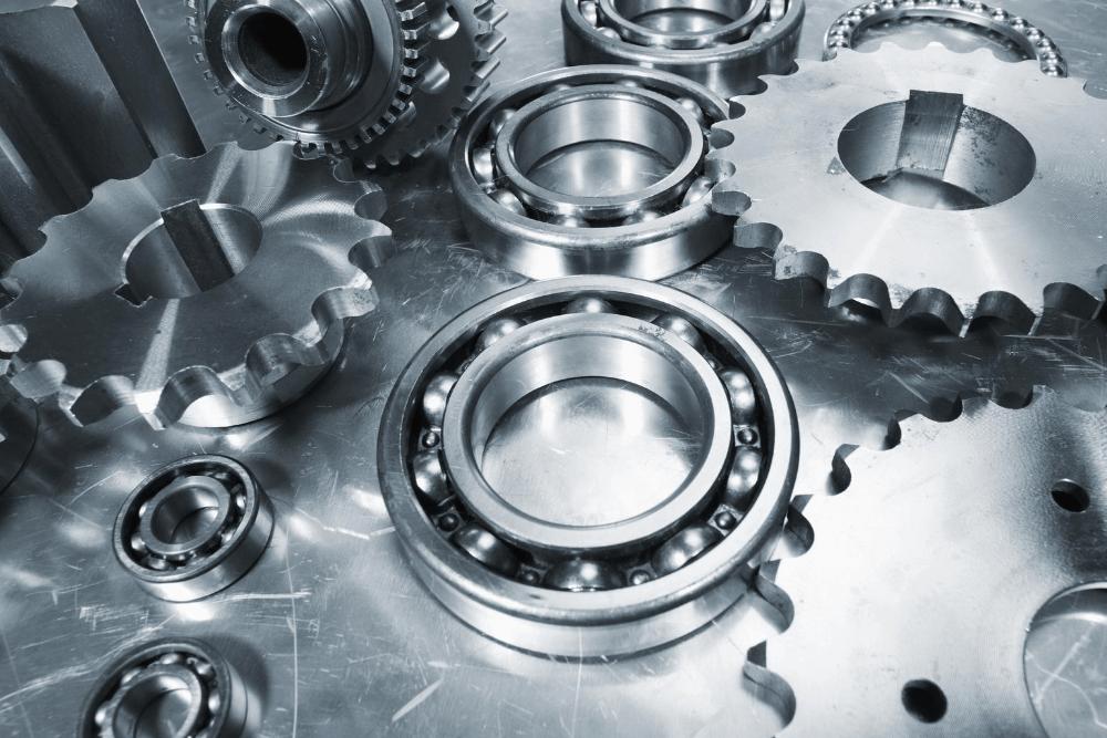 metals parts made from titanium