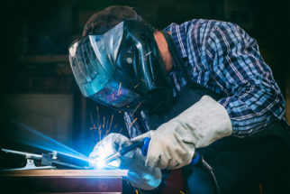 Welding services at Special Metals