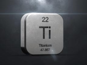 titanium metal symbol