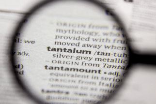 definition of tantalum metal